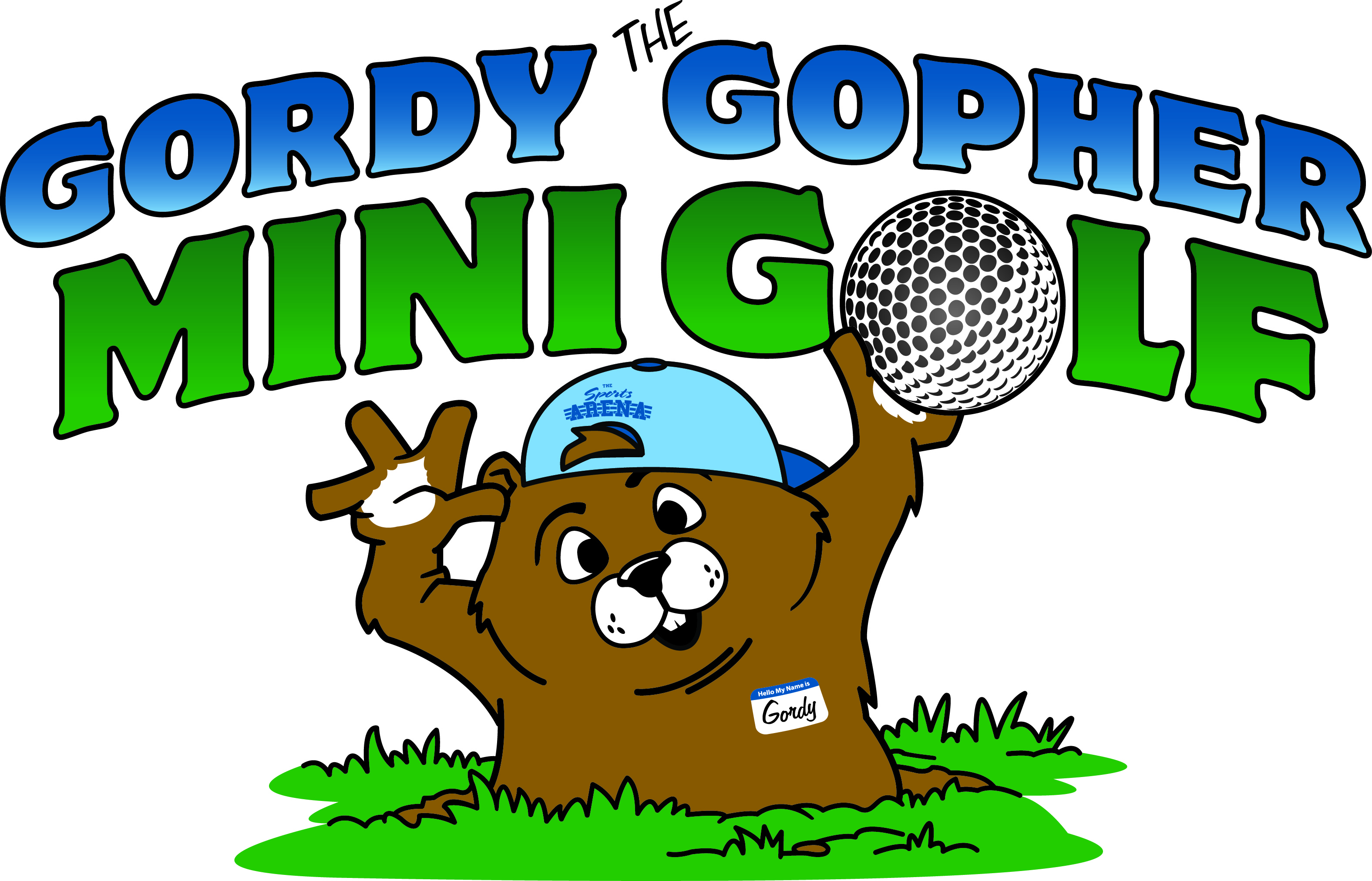 Gordy Gopher Mini Golf